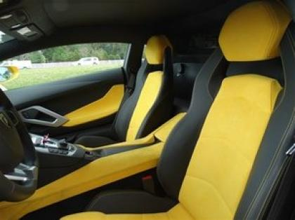 2012 LAMBORGHINI AVENTADOR LP700-4 - YELLOW ON YELLOW 7