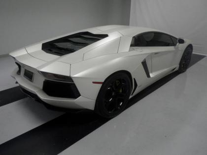 2012 LAMBORGHINI AVENTADOR BASE - GRAY ON BLACK 2