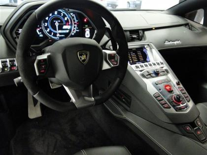 2012 LAMBORGHINI AVENTADOR LP700-4 - WHITE ON BLACK 6