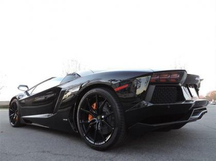 2014 LAMBORGHINI AVENTADOR ROADSTER - BLACK ON BLACK 4