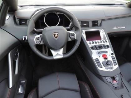 2014 LAMBORGHINI AVENTADOR ROADSTER - BLACK ON BLACK 5