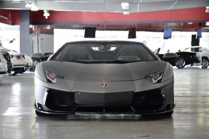 Export Used 2014 Lamborghini Aventador Roadster Gray On Black
